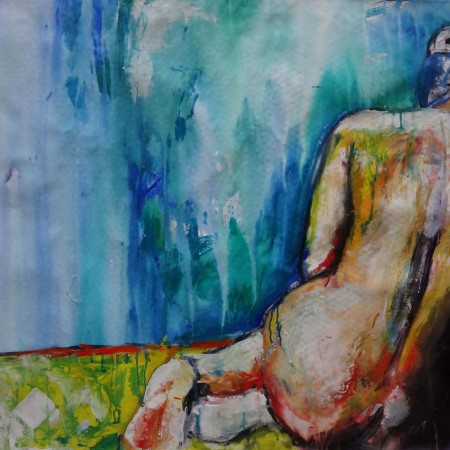 abstract nude art