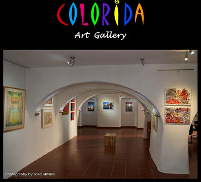 Exhibition at Colorida Art Gallery, Lisbon, Portugal