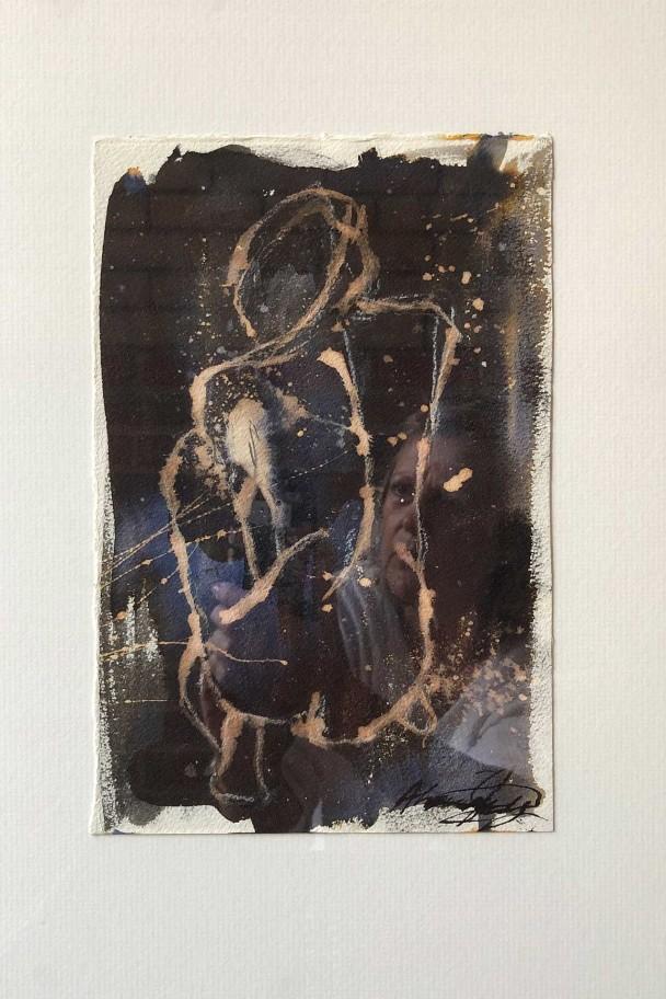 Study in Ink Black 1 by Alexandra Kay Vøhtz