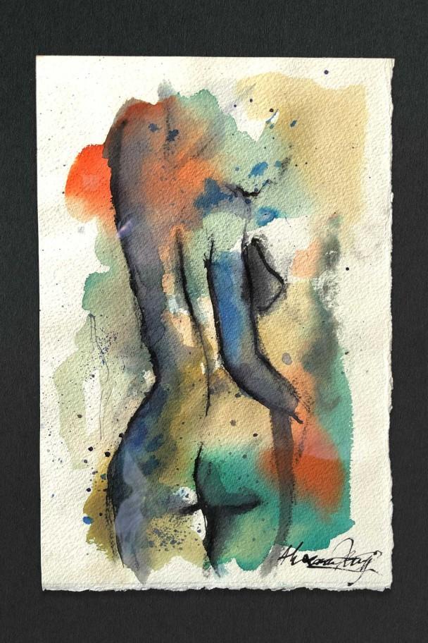 Study in Ink 1 by Alexandra Kay Vøhtz
