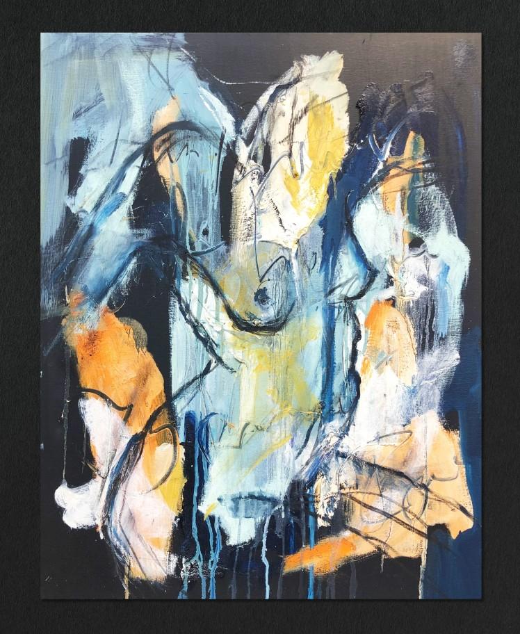 Figurative Study in Oil I by Alexandra Kay Vøhtz